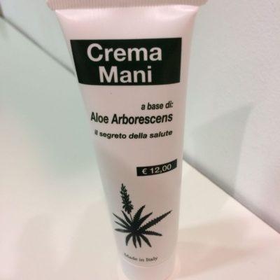 Crema Mani Aloe Arborescens